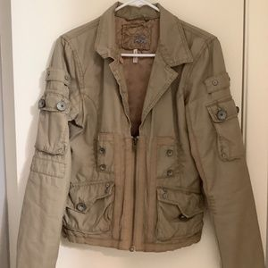 Steampunk bomber jacket